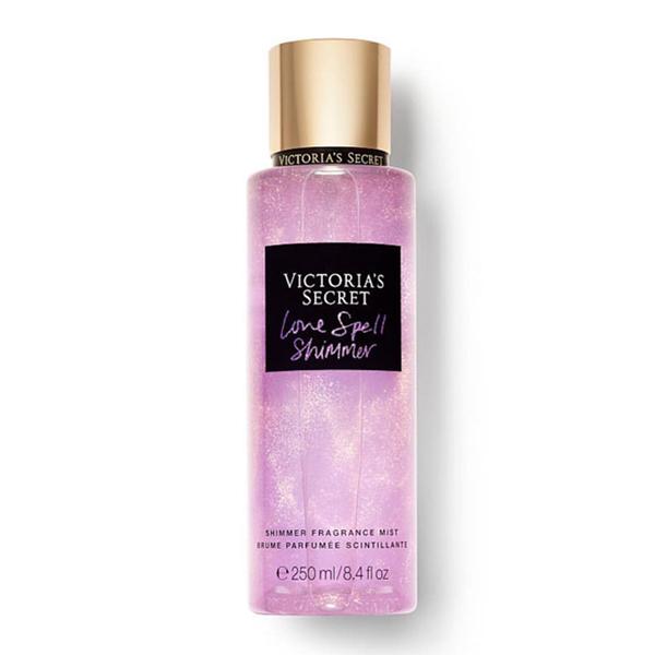 Xịt thơm body kim tuyến dưỡng ẩm Love Spell - Victoria s Secret