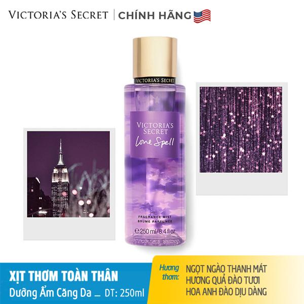 Xịt thơm toàn thân dưỡng ẩm Love Spell - Victoria Secret