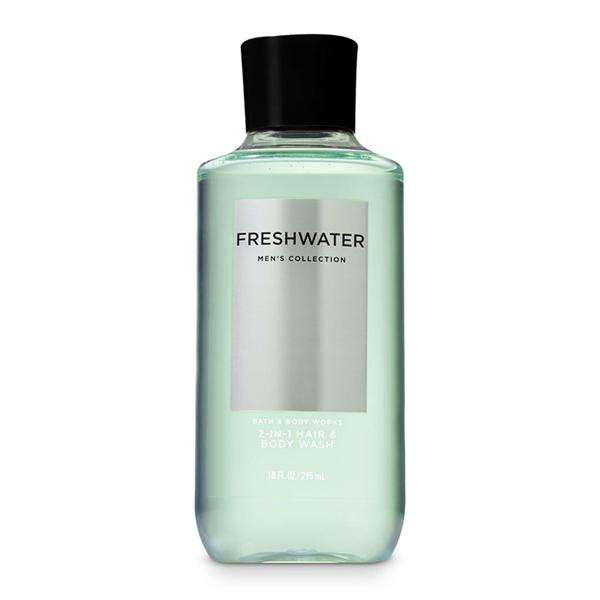 Sữa tắm gội nam Freshwater - Bath and Body Works 295ml