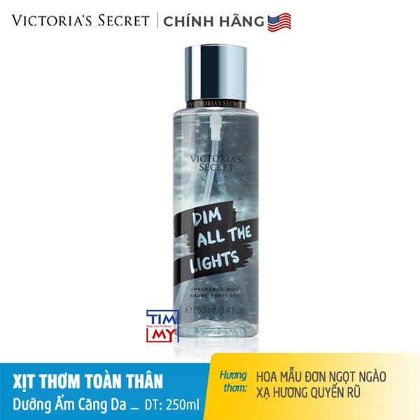 Xịt thơm toàn thân dưỡng ẩm DimAlltheLights - Victoria 's Secret