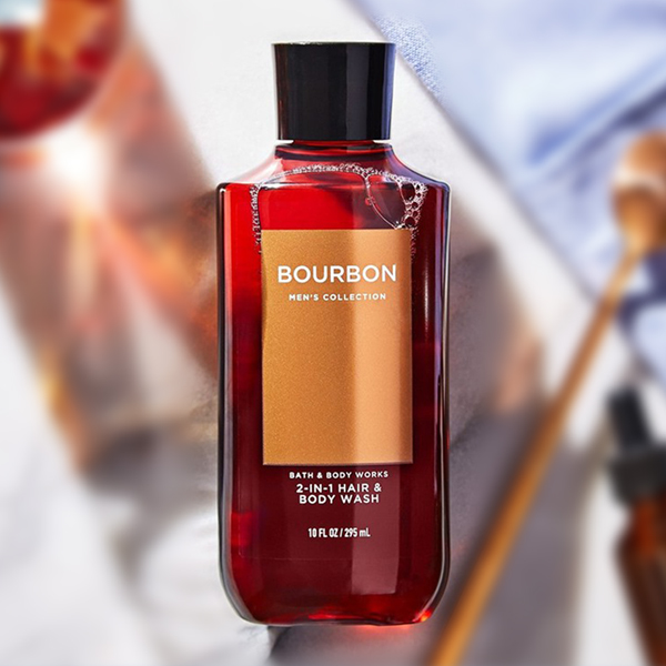 Sữa tắm gội nam Bourbon - Bath and Body Works 295ml
