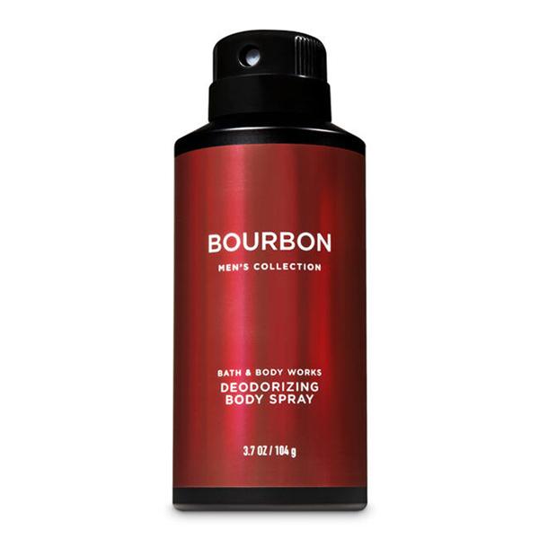 Xịt khử mùi toàn thân nam Bourbon Bath & Body Works 104g