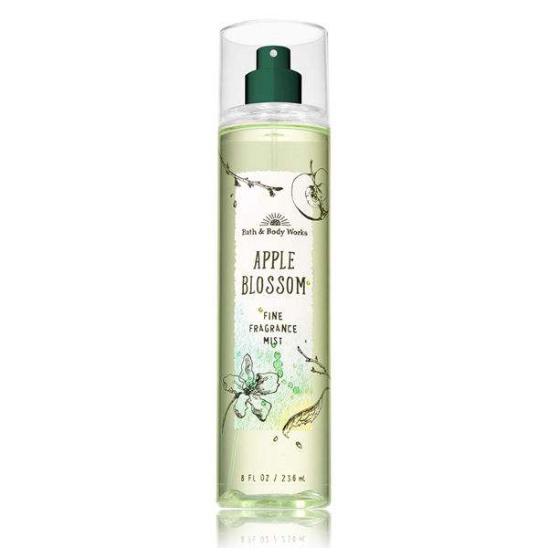 Xịt thơm body dưỡng ẩm hương táo Apple Blossom - Bath and Body Works 236ml