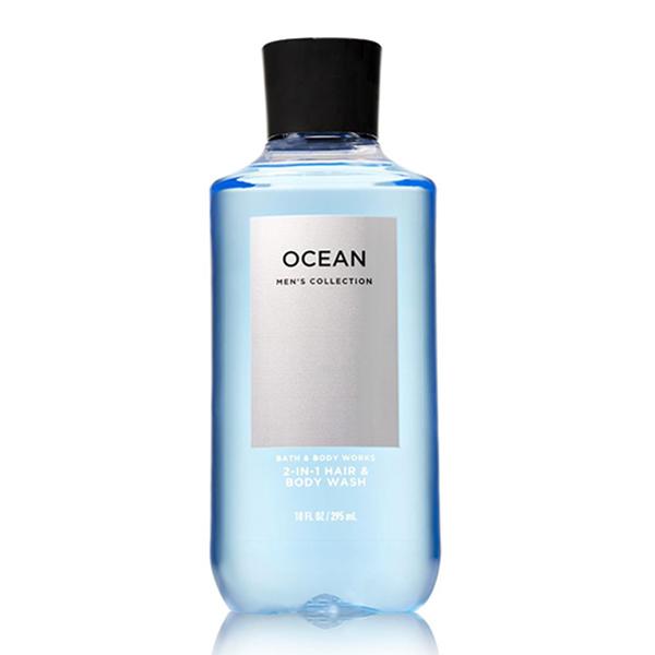 sữa tắm gội nam Ocean - bath & body works 295ml