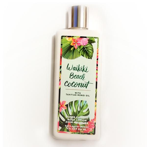 Sữa dưỡng thể Wakiki Beach Coconut - Bath and Body Works 236ml