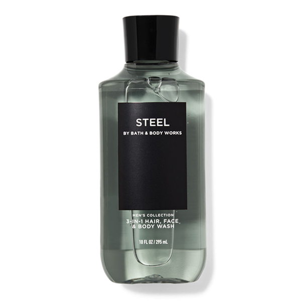 Sữa tắm gội nam Steel - Bath and Body Works 295ml