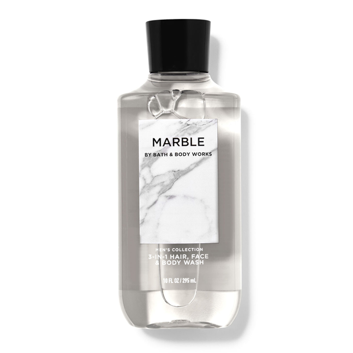 Sữa tắm gội nam Marble - Bath and Body Works 295ml
