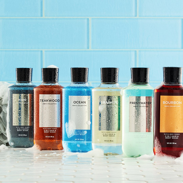 sữa tắm gội nam bath & body works 295ml