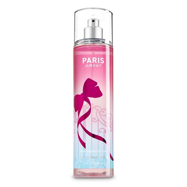 Xịt thơm toàn thân Paris Amour body mist - Bath and Body Works 236ml