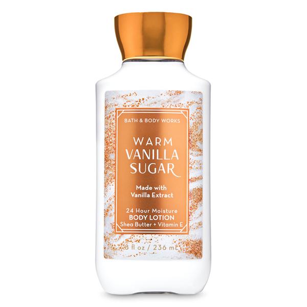 Sữa dưỡng thể Warm Vanilla Sugar - Bath and Body Works 236ml