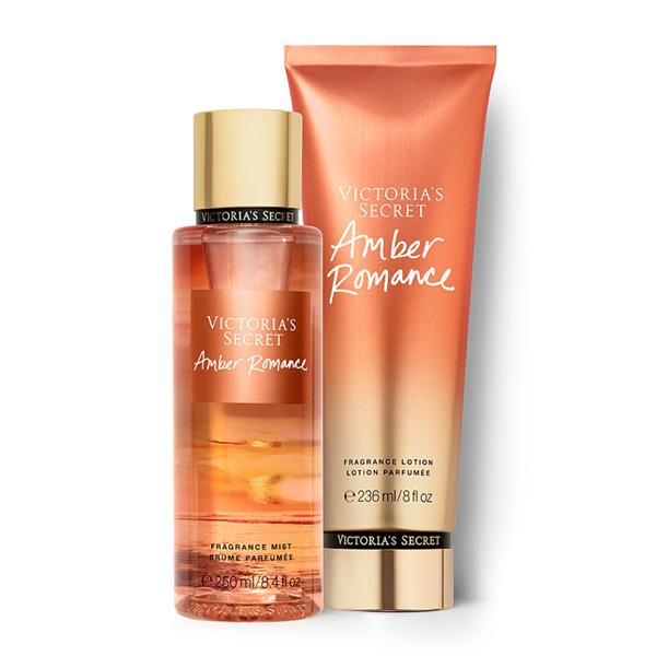 Xịt thơm toàn thân dưỡng ẩm Amber Romance - Victoria Secret
