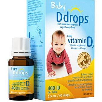 Vitamin D3 cho bé Baby Ds  (90 giọt).