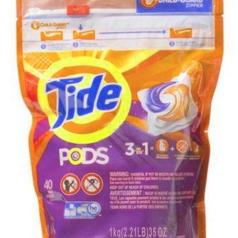 Viên giặt Tide Pods 3 in 1 - 40 viên - Mỹ