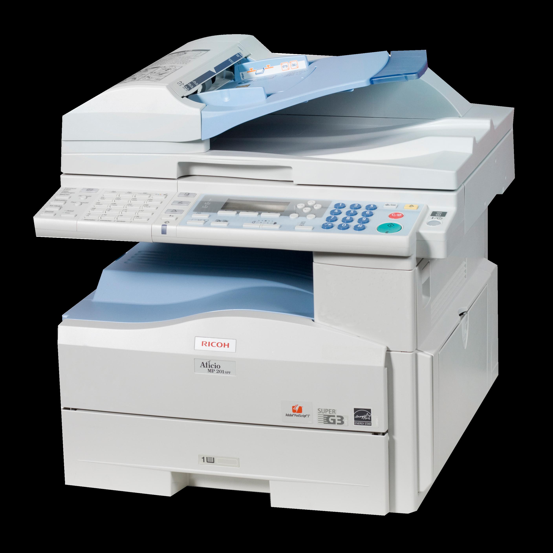 Máy photocopy Ricoh MP 201SPF