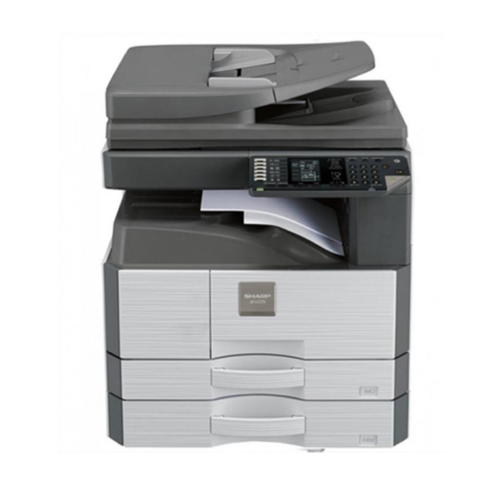 Máy photocopy Sharp AR-6020 DV là sản phẩmMáy photocopy Sharp AR-6020 DV có nhiều ưu điểm như ít kẹt giấy, chi phí mực thấp,tuổi thọ vật tư cao. Máy photocopy Sharp AR-6020 DV có thiết kế đẹp mắt, sang trong phù hợp với văn phòng của bạn. Hãy mua ngay và