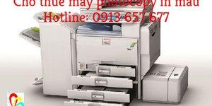 Dịch vụ cho thuê máy photocopy in màu giá rẻ