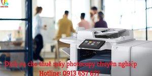 Cho thuê máy photocopy tận nơi - không lo về giá