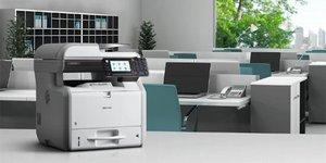 Máy photocopy Ricoh MP301SPF tiện ích cho văn phòng nhỏ