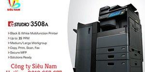Tối đa hóa chi phí với máy photocopy Toshiba 3508A