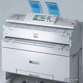 Cho thuê máy photocopy, in khổ lớn A0, A1
