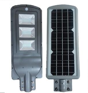 Đèn led năng lượng mặt trời 90W tấm pin liền