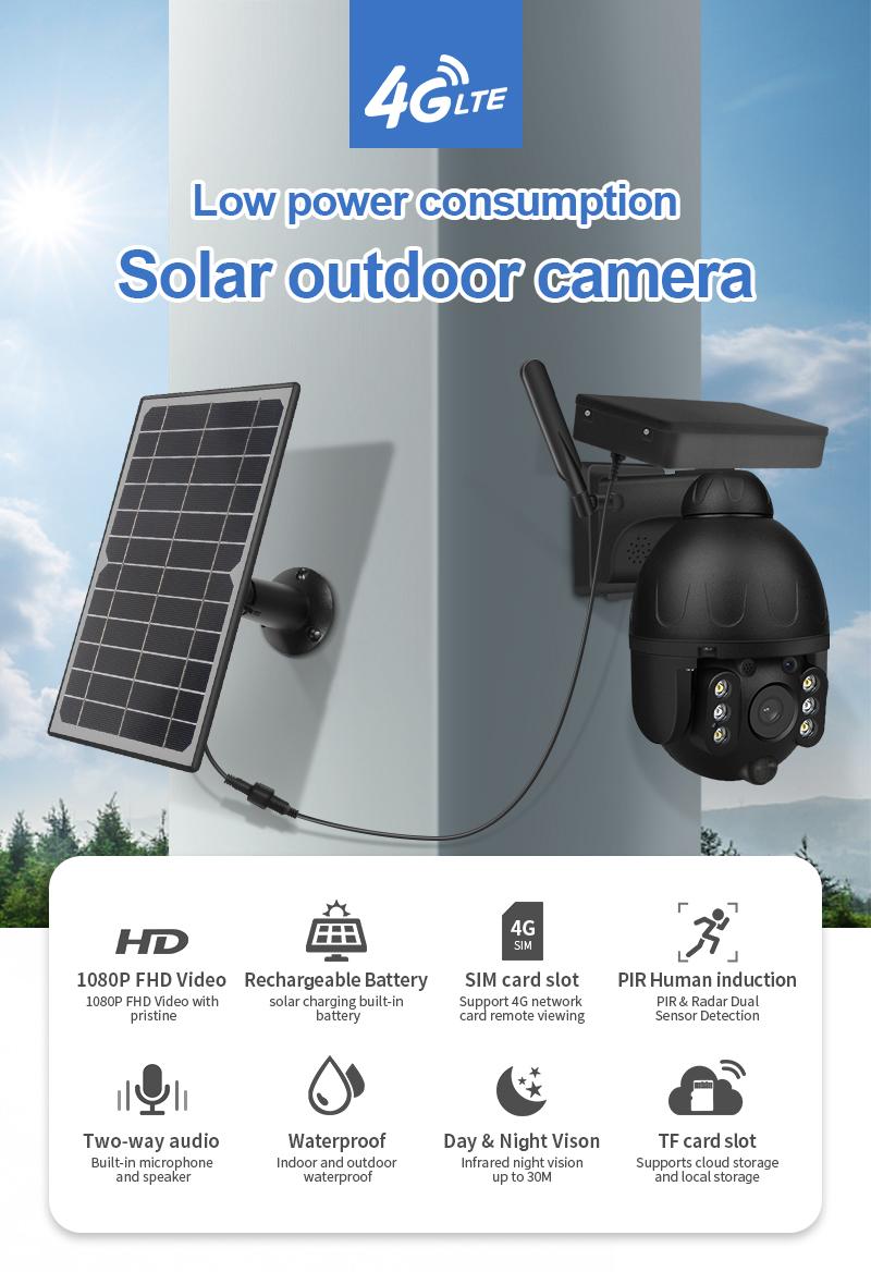 Camera năng lượng mặt trời 4G MKS