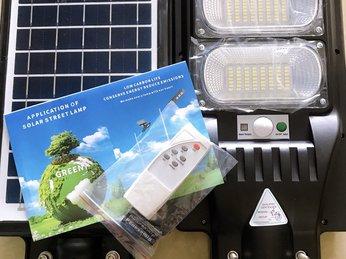 Đèn năng lượng mặt trời - Giải pháp chiếu sáng tiết kiệm