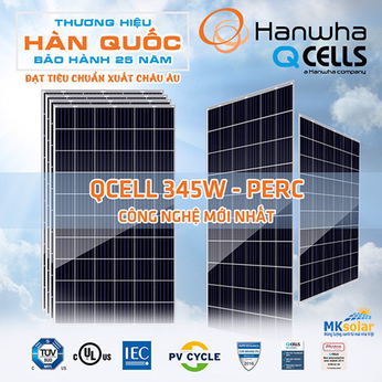 QCells Solar panel Q.Peak Duo L-G7 công suất 400 (Mono Halfcell)