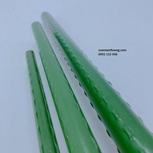 Cọc nhựa lõi thép phi 11: 1 m2