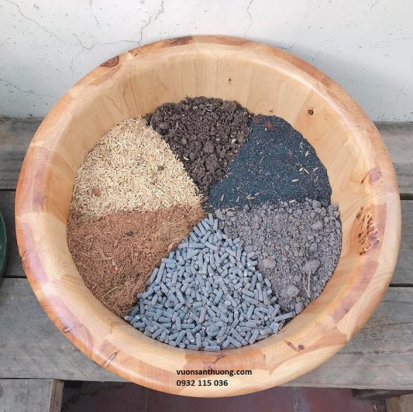 Đất trộn dành riêng cho củ quả