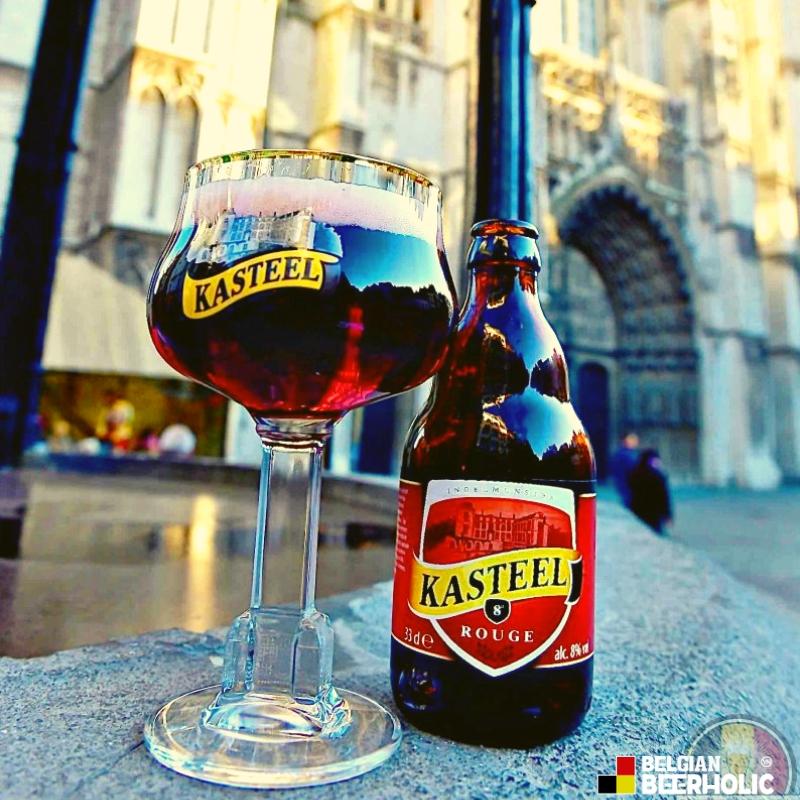 Bia đỏ kasteel rouge