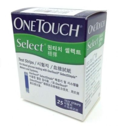 Que Onetouch Select hộp 25 que