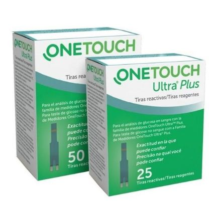 Que thử đường huyết Onetouch Ultra Plus Flex lọ 25 que
