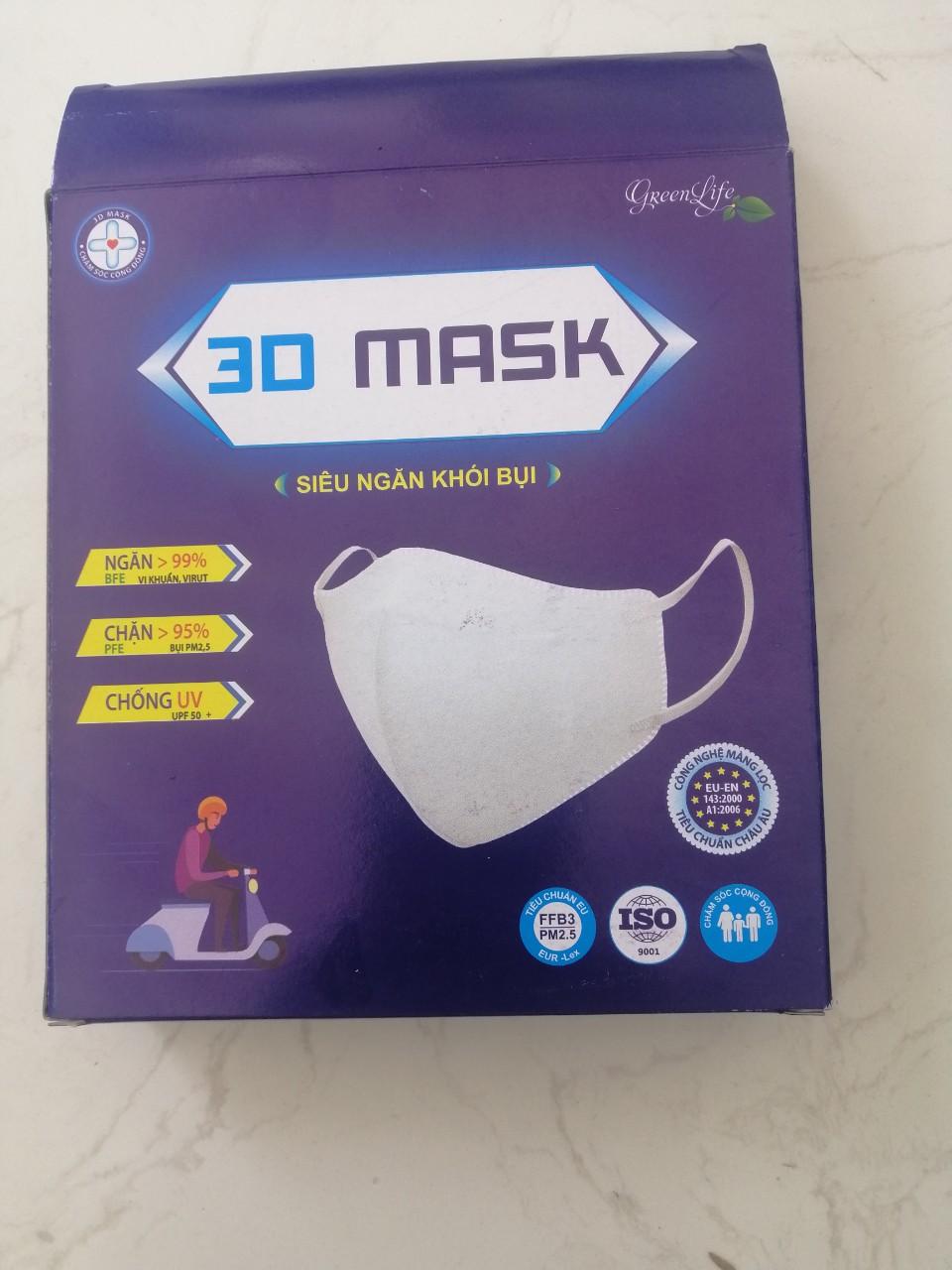 Khẩu trang y tế 3D MASK phòng ngừa dịch Covid-19
