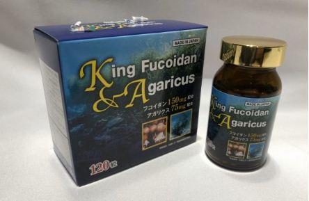 KING FUCOIDAN & AGARIC - NGĂN CHẶN SỰ PHÁT TRIỂN CỦA TẾ BÀO U BƯỚU
