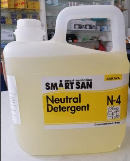 NEUTRAL DETERGENT N-4 RỬA CHÉN (Dung dịch tẩy rửa trung tính)