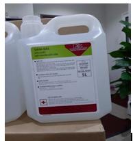 Dung dịch sát khuẩn gốc cồn (Hóa chất diệt khuẩn gốc cồn) Sani-Gel (Can 5 lít)