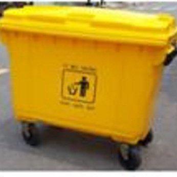Thùng rác nhựa 660 lít #1140