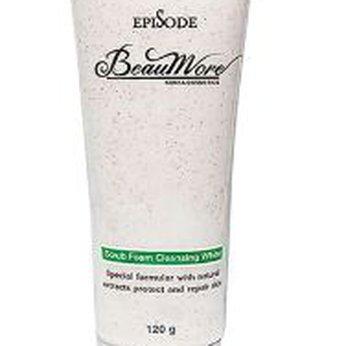 Sửa rửa mặt hạt mơ Beaumore Scrub foam cleaning white