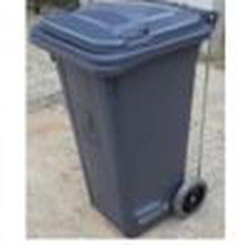 Thùng rác nhựa 120 lít có Pedal #1608