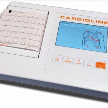 Máy điện tim CARDIOLINE (ECG100L – 6 kênh)