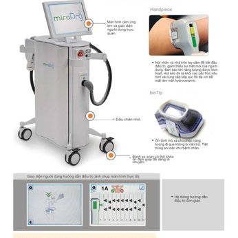 MiraDry máy điều trị tăng tiết mồ hôi nách