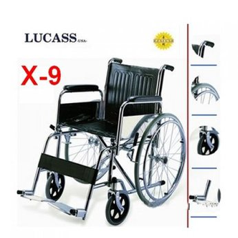 Xe lăn tiêu chuẩn X9 Lucass