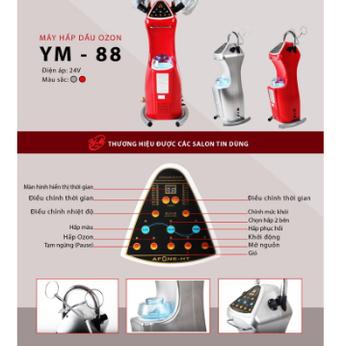 MÁY HẤP DẦU OZON 2 LÁ ĐỒNG YM-88