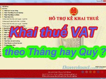 Thời điểm Báo cáo thuế VAT