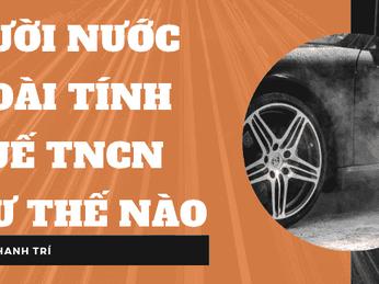 Cách tính thuế TNCN cho người nước ngoài