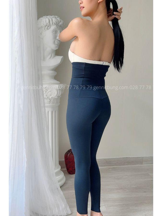Quần gen đùi dài lưng cao Leonisa 012901