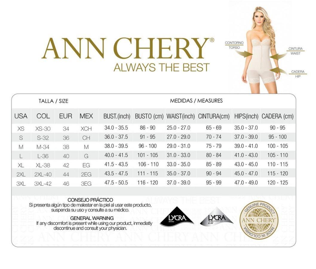 Gen Nịt Bụng Latex ANN CHERY 2025 - 2 Mắc Cài