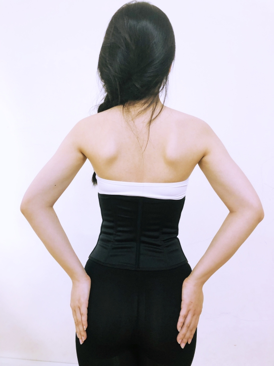 Gen bụng Latex Vedette 348 Form ngắn