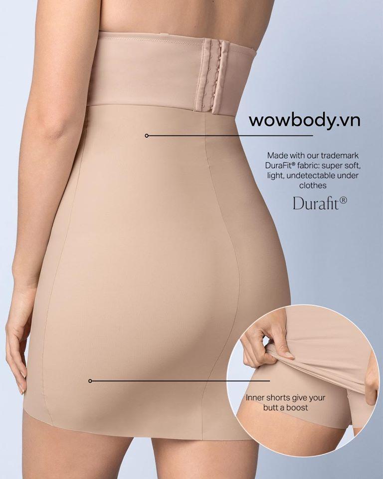 Váy lót gen lưng cao không viền Leonisa 015803